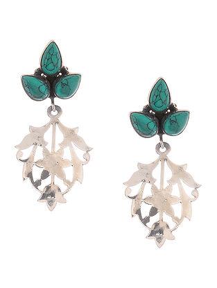 Turquoise Silver Earrings