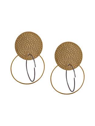 Dual Tone Handcrafted Earrings