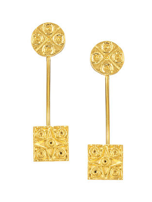 Gold Plated Handcrafted Earrings
