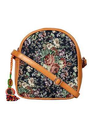 Multicolored Handcrafted Cotton Printed Sling Bag