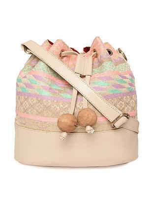 Multicolored Handcrafted Handbag