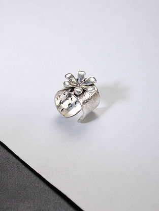 Classic Silver Adjustable Ring