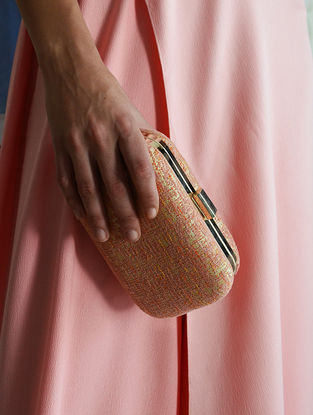 Pink Handcrafted Clutch