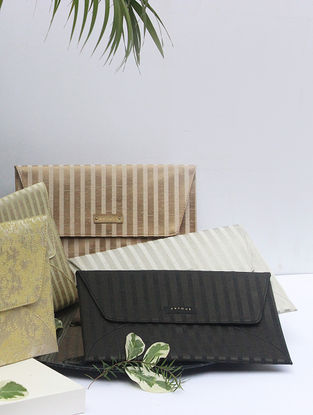 Black Handcrafted Clutch
