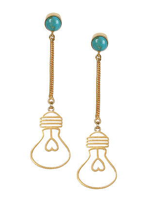 Turquoise Gold-plated Earrings