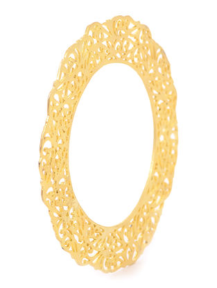 Gold Plated Filigree Bangle