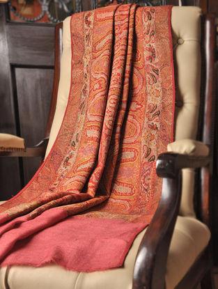 Kashmir Handwoven 1840's Vintage Pashmina Jamawar Shawl