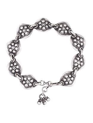 Tribal Sterling Silver Bracelet