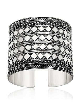 Tribal Sterling Silver Cuff