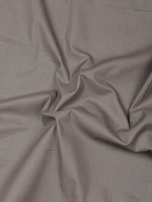 Grey Herbal-dyed Cotton Fabric
