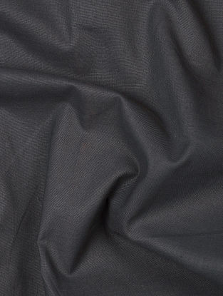 Black Herbal-dyed Cotton Fabric
