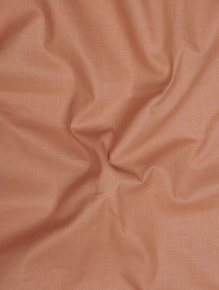 Brown Herbal-dyed Cotton Fabric