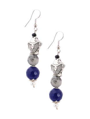Pearl and Agate Earrings