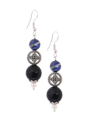 Lapis Lazuli and Onyx Earrings