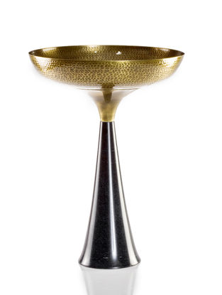 Umaid Handcrafted Brass Umaid Bowl (Dia:11.2in, H:11.5in)
