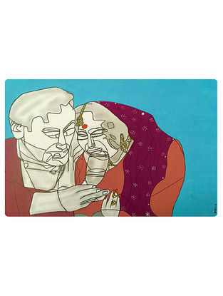 Limited Edition Sahib Biwi Aur Ghulam on Paper - 20in x 14in