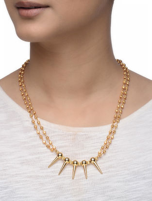 Gold-plated Silver Necklace