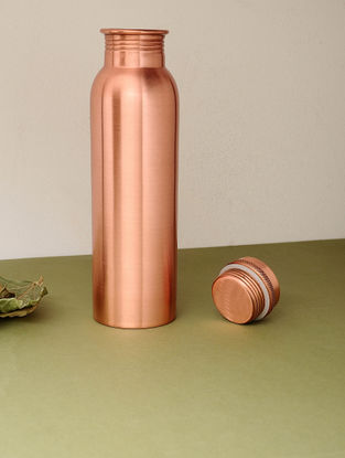 Copper Bottle (Dia:3in, H:10.6in)