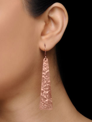 Classic Copper Earrings
