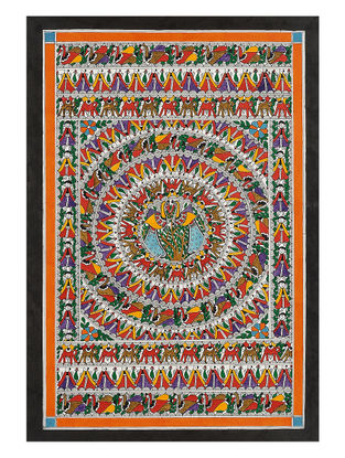 Madhubani Painting - 22.2in x 15in