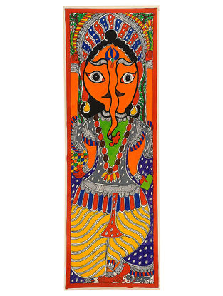 Madhubani Painting - 22in x 7.5in