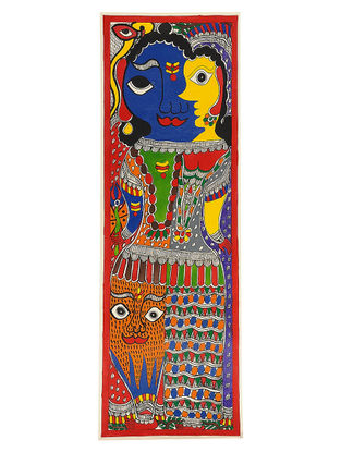 Madhubani Painting - 22in x 7.3in