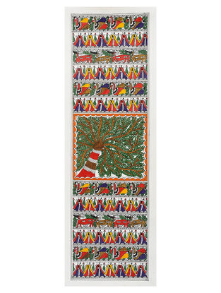 Madhubani Painting - 22.2in x 7.5in