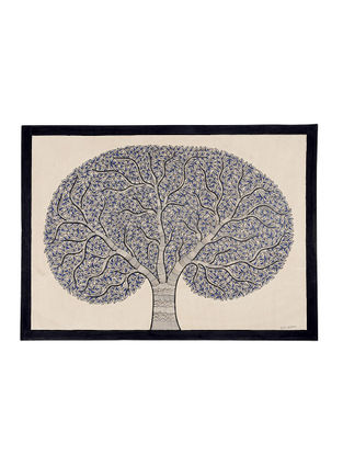 Tree of Life Madhubani Painting - 22in X 30in
