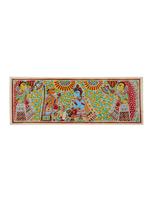 Madhubani Painting - 11in X 30in