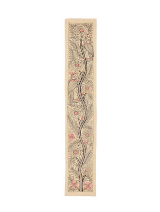 Tree of Life Madhubani Painting - 22.5in X 3.6in