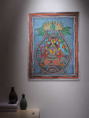 Deity Madhubani Painting - 30in x 22in