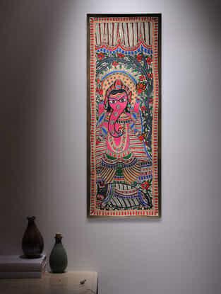 Ganesha Madhubani Painting - 30in x 11in