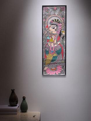 Ganesha Madhubani Painting - 22.5in x 7.5in