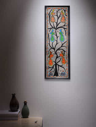 Tree of Life Madhubani Painting - 22.5in x 7.2in