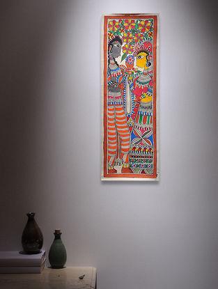 Deity Madhubani Painting - 22.5in x 7.5in