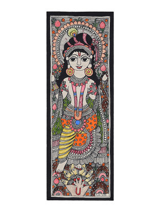 Deity Madhubani Painting - 14.7in x 5.5in