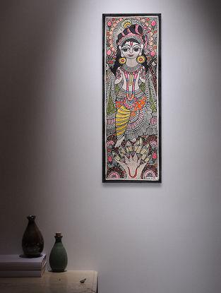 Deity Madhubani Painting - 14.7in x 5.5in