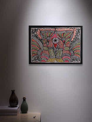 Madhubani Painting - 5.6in x 7.6in