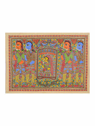 Madhubani Painting - 22.4in x 30.2in