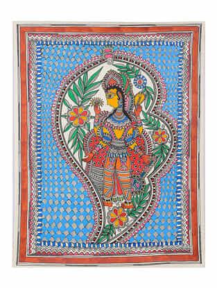 Deity Madhubani Painting - 30in x 22.4in