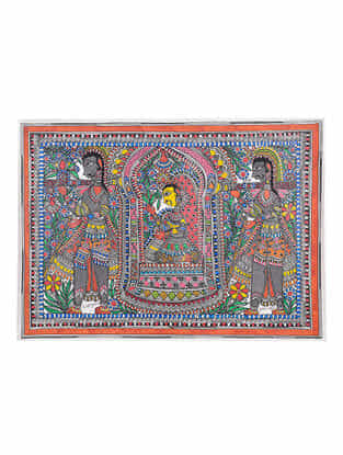 Madhubani Painting - 22.5in x 30in