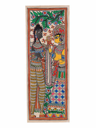 Deity Madhubani Painting - 30in x 11.2in