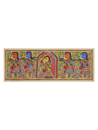 Doli Madhubani Painting (7.5in x 22.2in)