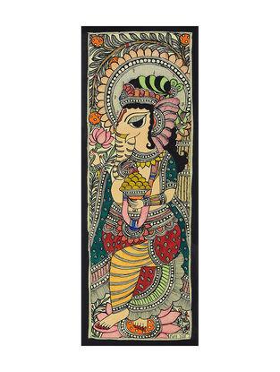 Ganesha Madhubani Painting (15in x 5.6in)