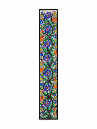 Tree of Tree Madhubani Painting (22in x 3.7in)