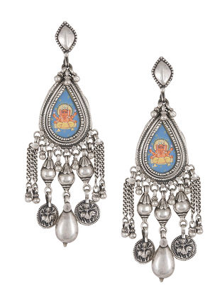 silver grande gold half shaped earrings and products plated glass pearl moon amrapali a