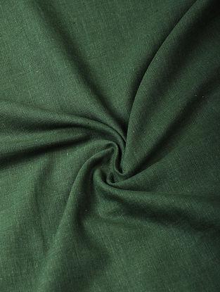 Green Handloom Cotton Fabric