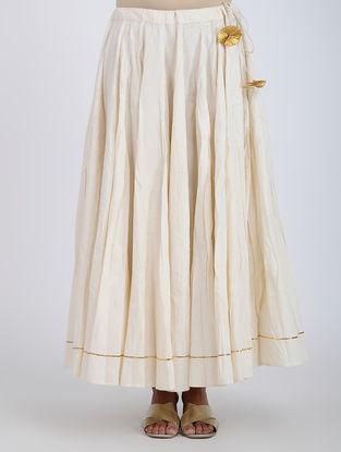 Ivory Cotton Skirt