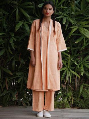 Orange Cotton Khadi Wrap