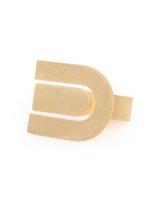 Classic Gold Tone Adjustable Ring
